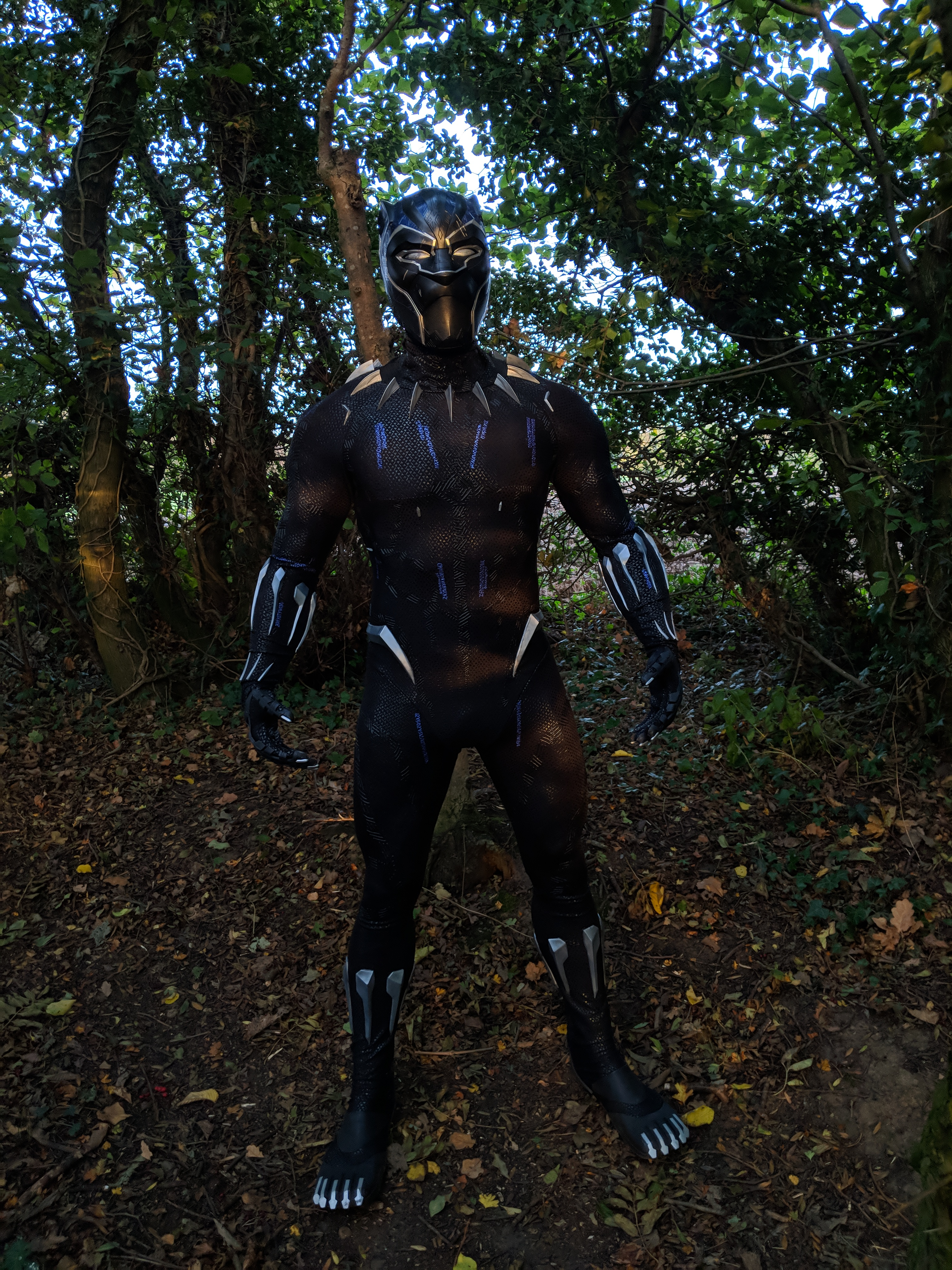 89f6fdc1 Movie Grade Black Panther Suit